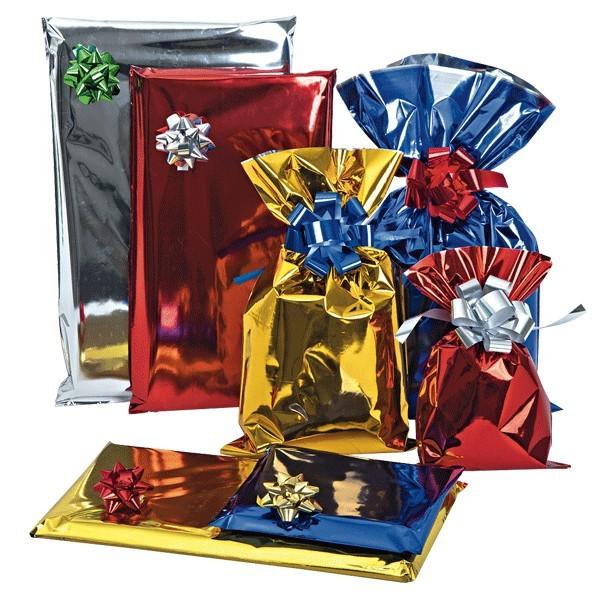 Sacchetti da regalo metallizzati