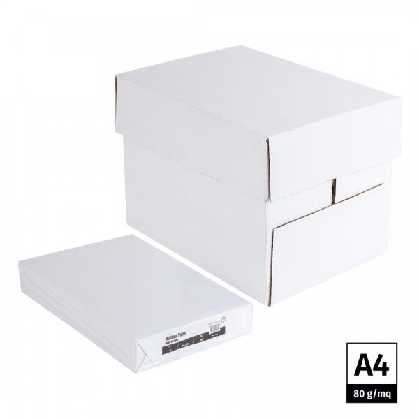 Carta per fotocopie A4 80 gr