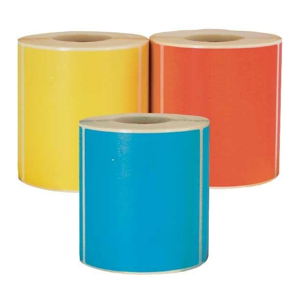 Etichette in carta colorata a trasferimento termico
