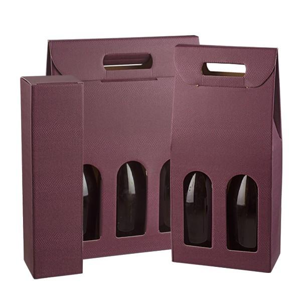 Scatole portabottiglie vinaccia