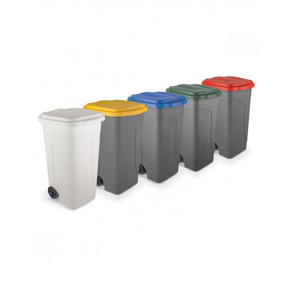 Bidoni per raccolta differenziata 80 litri