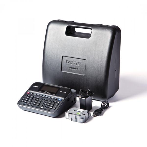 Etichettatrice Brother PT-D600VP desktop collegabile a PC o Mac