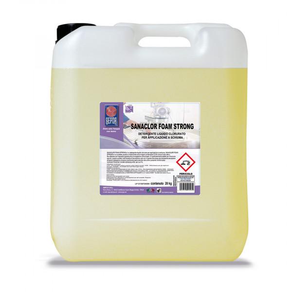 Sanaclor strong detergente schiumogeno clorurato
