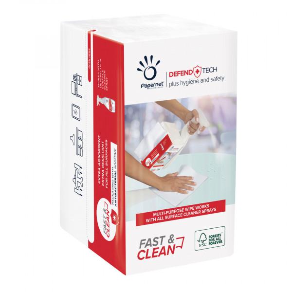Panni pulizia Wipes Fast & Clean