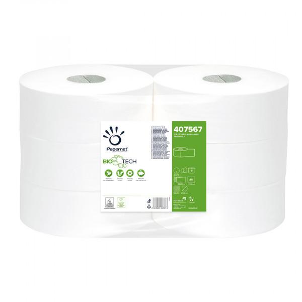 Carta igienica Jumbo Papernet Bio Tech