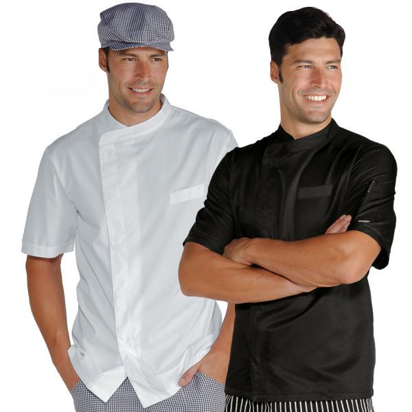 Giacca cuoco uomo manica corta