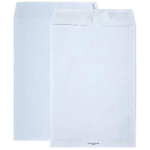 Buste bianche in carta kraft monolucida